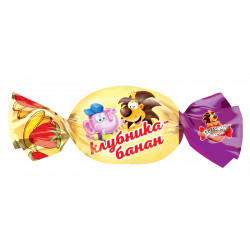 Детский сувенир клубника-банан